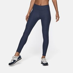 Outdoor Voices Pants - Outdoor Voices 3/4 Leggings Length - Navy - M